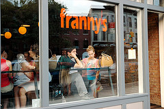 the window at unassuming Franny's