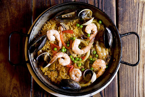 paella at El Nacional, thanks to serious eats for photo