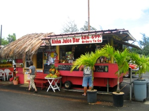 You could quit your job, move to Hawaii, and open a juice bar.