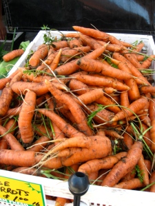 Check out these beautiful carrots
