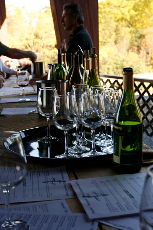 A wine tasting at Anyela's is $2 for five tastings.