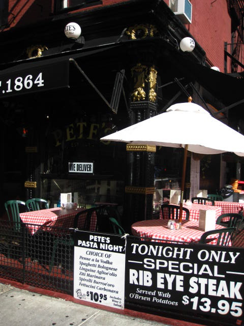 Dinner Deals at Pete's Tavern