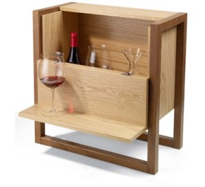 Quite simply the most brilliant gift for a wino who inhabits a very, very small studio.
