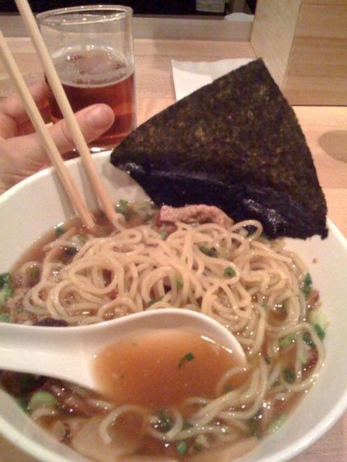 Pork Ramen Noodles at Momofuku Noodle Bar