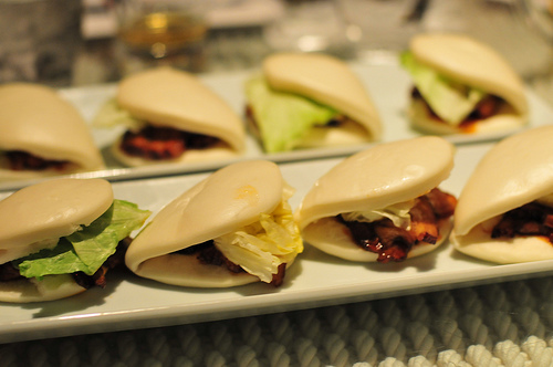 The pork buns at Ippudo. Photo courtesy of Michael Williams