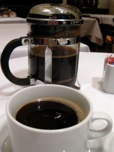 The Selva Negra Estate coffee at Union Square Cafe