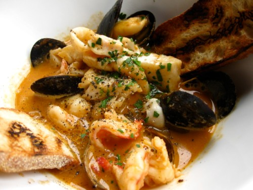 Cacciuoco- a delicious seafood stew