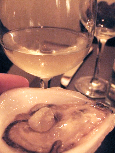 Oyster and Sauvignon Blanc