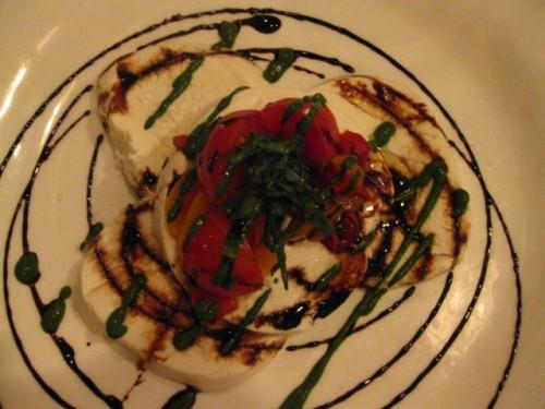 Mozzarella Salad- honestly, only so-so