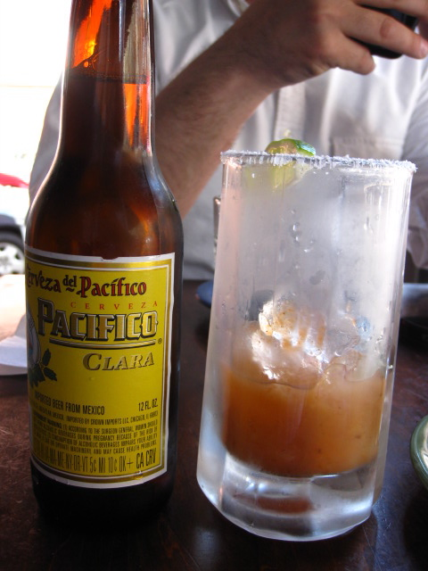 The Hot and Cold Michelada