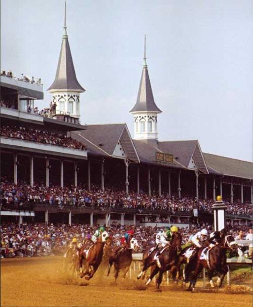 The Kentucky Derby at Churchill Downs