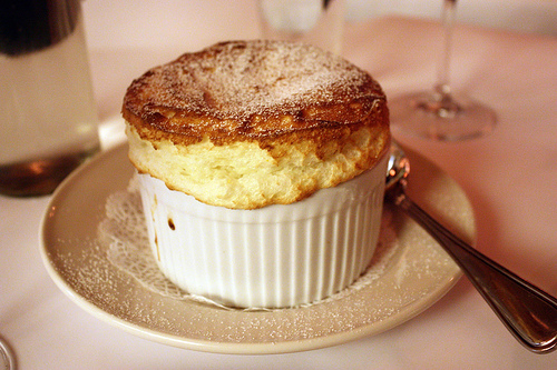 and souffle for dessert!!!!!