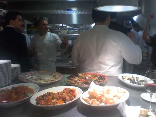 in the kitchen at SD26
