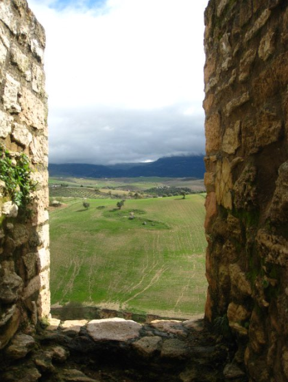The view from the city walls
